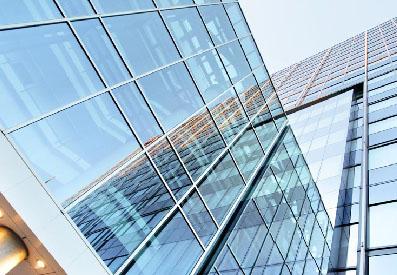 Фасадное остекление зданий в Екатеринбурге
